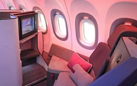 The Settee would have its own TV screen - Credit: airbus