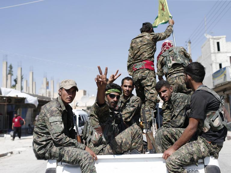 Clashes between Kurdish and Turkish forces in Syria threaten to derail fight against Isis