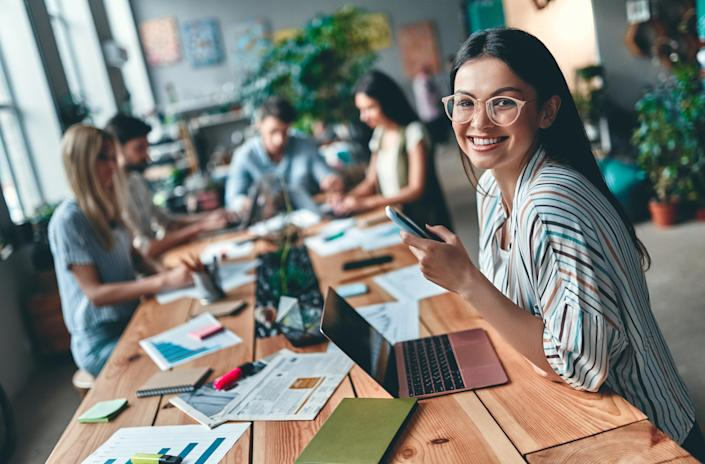 Authenticity at work boosts productivity, engagement and ultimately, a company's bottom line. Photo: Getty
