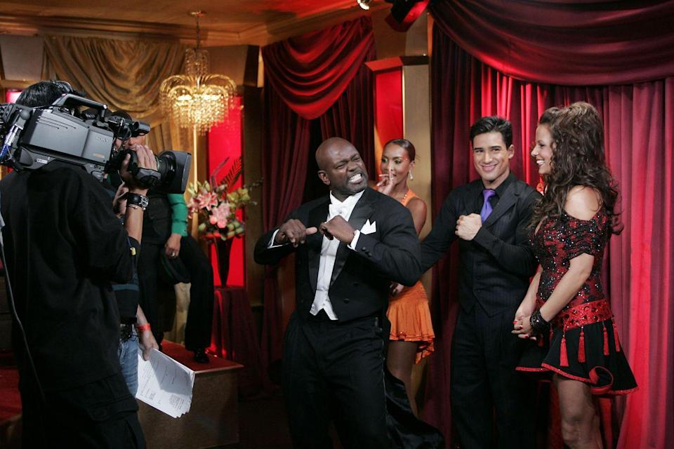 <p>The former football star made it known that he didn't appreciate his trash talk that was aired during his season of <em>DWTS</em>. Emmitt claimed that producers prompted him by asking whether he was intimidated by the male contestants and that when he responded they changed his sentiment in editing. All in all, the controversy led to awkward tensions amongst the cast. </p>
