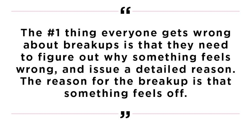 The No  1 Thing Everyone Gets Wrong About Breaking Up