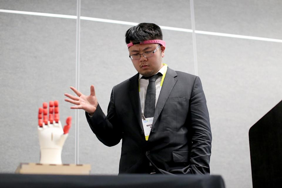 <p>Brainco's Focus headband measures its wearer's brain waves to see if they're concentrating. Its makers believe that it could be used in the classroom – with teachers able to see what teaching methods are working on their pupils. </p>