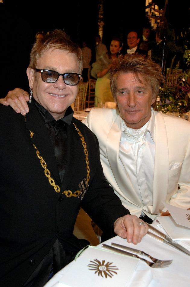Sir Elton has been friends with Sir Rod for years.