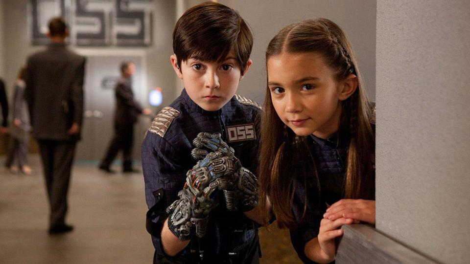 """<p>The <em>Spy Kids</em> series doesn't get the same acclaim as something like Harry Potter, but they're equally imaginative adventures. This one is the last of the franchise, but if your kids like it, the can always move on to the <a href=""""https://www.netflix.com/watch/80117814"""" rel=""""nofollow noopener"""" target=""""_blank"""" data-ylk=""""slk:animated Netflix TV series"""" class=""""link rapid-noclick-resp"""">animated Netflix TV series</a>. </p><p><a class=""""link rapid-noclick-resp"""" href=""""https://www.netflix.com/watch/70176656"""" rel=""""nofollow noopener"""" target=""""_blank"""" data-ylk=""""slk:STREAM NOW"""">STREAM NOW</a></p>"""