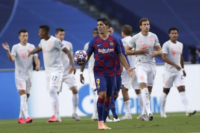 Luis Suarez is one of a number of players approaching the end of their careers