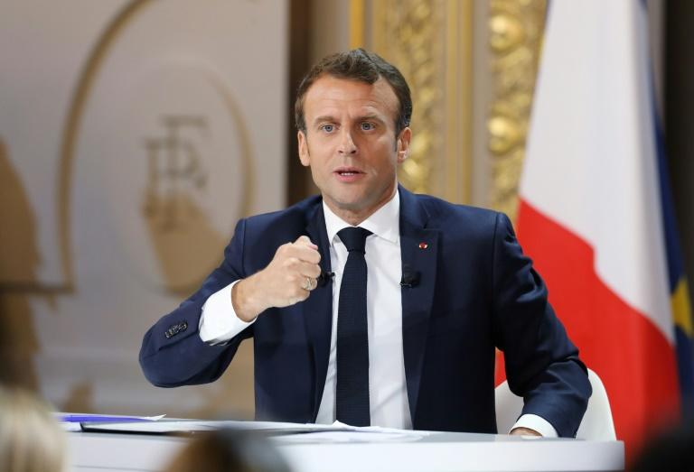 French President Emmanuel Macron promised significant tax cuts