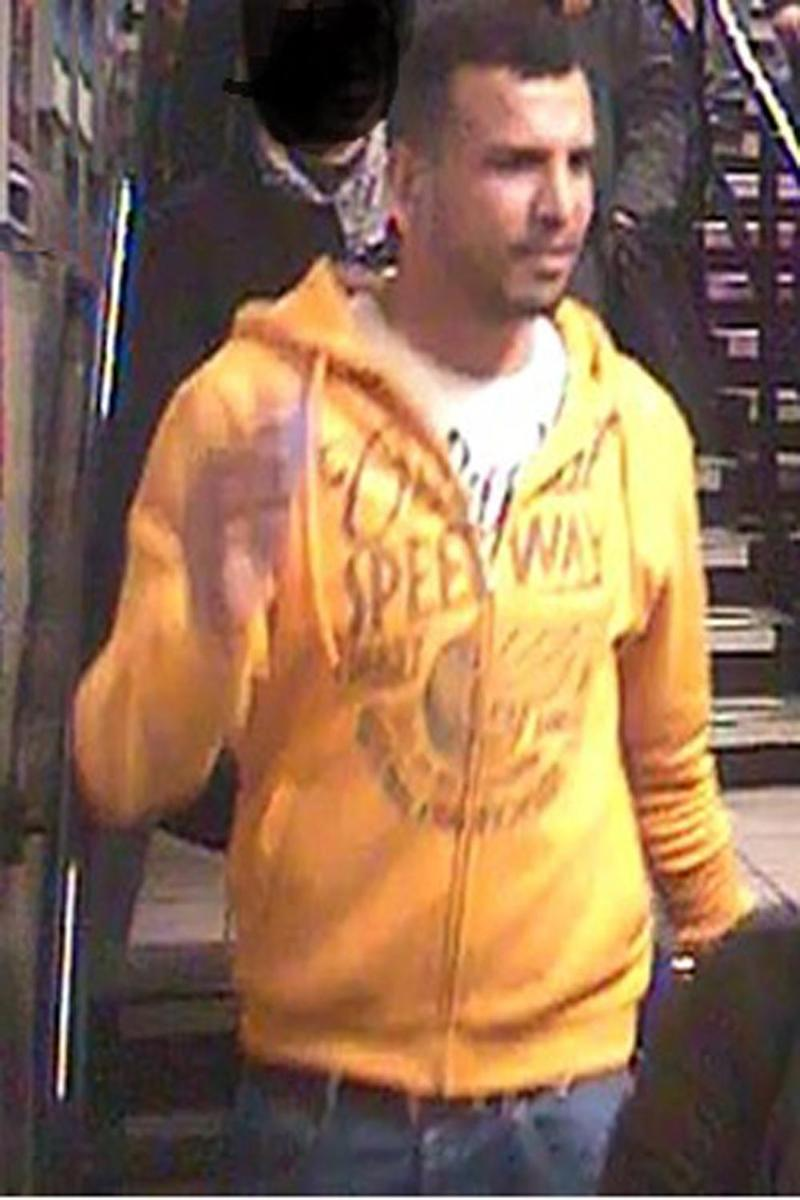 CCTV image: Police are looking to speak to this man (BTP)