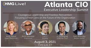 Join the top CIOs and business technology executives in-person from the Greater Atlanta area on August 3 as we explore the characteristics of resilient leadership and other timely topics.