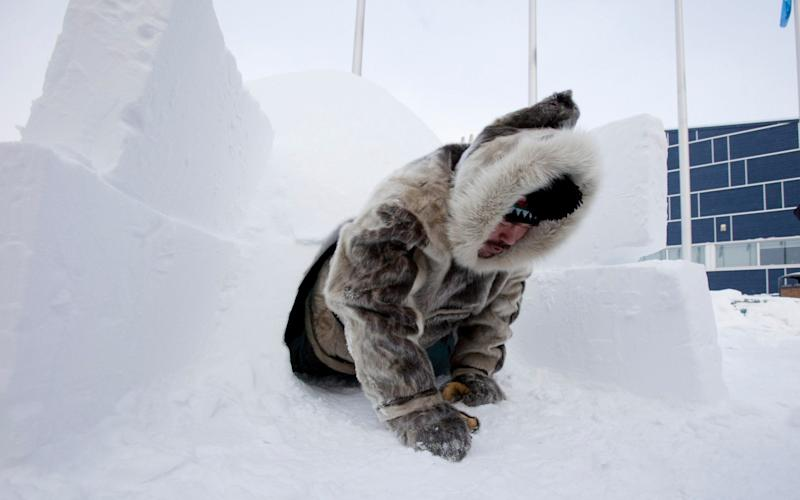 A scientist proved that a story about an Inuit man in Canada who made a knife out of excrement was false - GETTY IMAGES