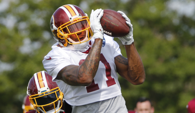 Blink and you could miss out on Terrelle Pryor tallying a top-10 WR campaign. (AP)