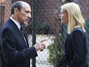 """<p><b>This Season's Theme: </b> The season will deal with """"the fact that objective facts mean nothing, that information seems to be tactical and weaponized now,"""" says executive producer Chip Johannessen. <br><br><b>Where We Left Off: </b> After Carrie (Claire Danes) averted a chemical weapons attack in the Berlin subway system, Saul (Mandy Patinkin) tried to recruit her back into the CIA, but she refused. Carrie read a farewell letter from brain-dead Quinn (Rupert Friend), who declared his love for her. <br><br><b>Coming Up: </b> Carrie is living in Brooklyn and working at a foundation aiding Muslim Americans, and she's trying to be a good mother to Frannie. """"She really devotes her life to her daughter,"""" Johannessen says. But just when she thinks she's out… """"Carrie, in addition to what she's doing with the foundation, has a secret life that draws her back more into the world we expect to find her in,"""" says the EP. Still, """"she has extreme misgivings about what the CIA has done the last 50 years. Have they made the world worse, ruined lives? It's a big question to ask."""" <br><br><b>Lazarus Effect: </b> Peter Quinn is not dead, but """"he's not quite whole,"""" Johannessen says. He's struggling with """"the unreliability of his senses and his perceptions."""" As for Carrie and Quinn's relationship, """"This is a person that she has heavy karmic dues to pay to."""" <i>— KW</i> <br><br>(Credit: JoJo Whilden/Showtime) </p>"""
