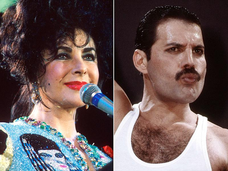 Why Elizabeth Taylor Got Real About Sex at Freddie Mercury Tribute Concert