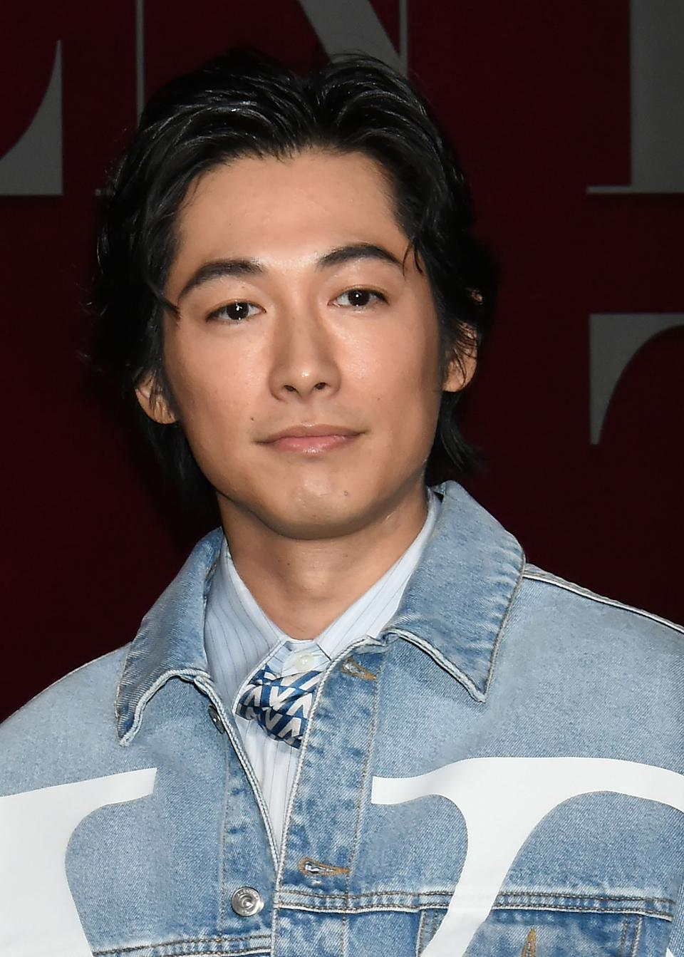 TOKYO, JAPAN - NOVEMBER 27:  Actor Dean Fujioka attends the photocall for Valentino TKY 2019 Pre-Fall Collection at Terada Warehouse on November 27, 2018 in Tokyo, Japan.  (Photo by Jun Sato/WireImage)
