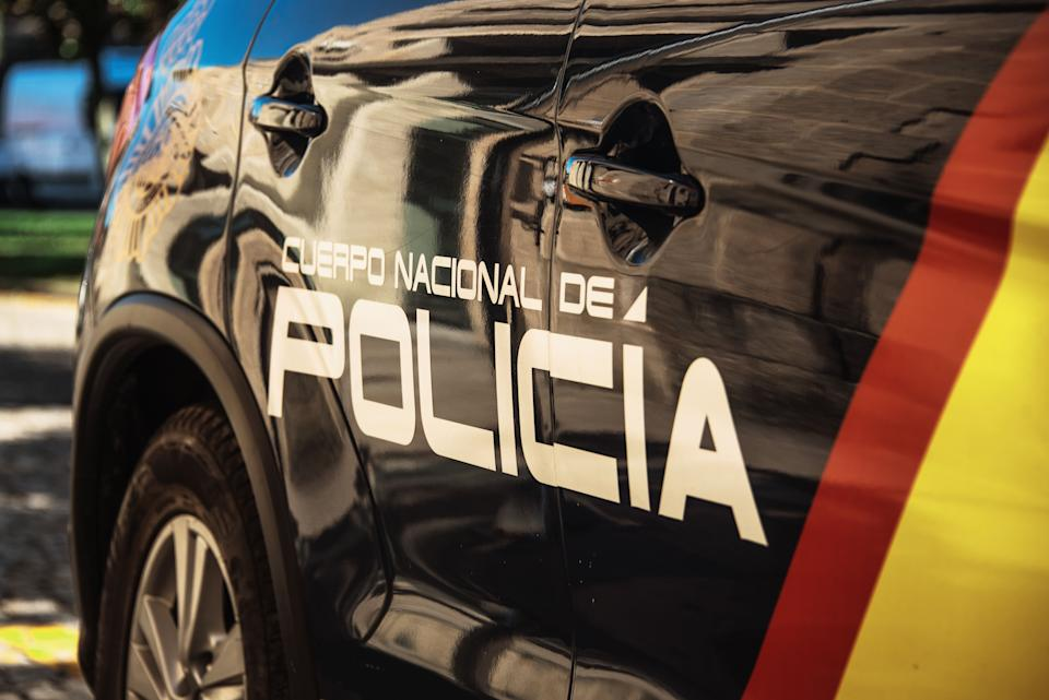 Partial view of a spanish police car (Photo: MarioGuti via Getty Images)