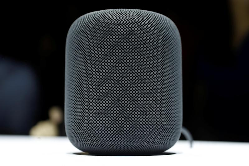 A prototype Apple HomePod is seen during the annual Worldwide Developer Conference (WWDC) in San Jose, California, U.S. June 5, 2017: REUTERS/Stephen Lam