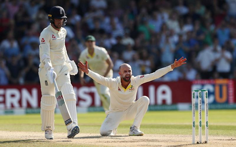 Nathan Lyon's appeal was turned down and Australia had no reviews left - Action Images via Reuters