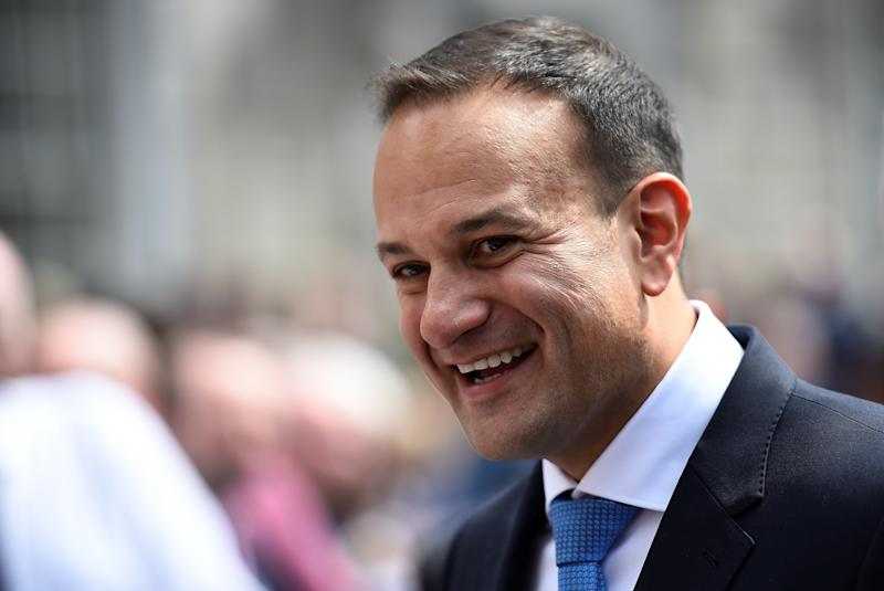 <strong>Leo Varadkar is reportedly unconvinced by the UK's plans to introduce a high-tech land border between Northern Ireland and the Republic</strong> (Clodagh Kilcoyne / Reuters)