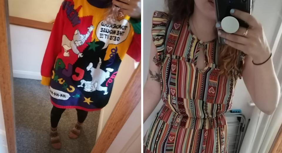 Charlotte's thrift shop finds (PA)