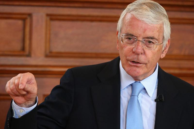 Threat: Former prime minister Sir John Major said he would take Boris Johnson to court over suspending Parliament: PA Archive/PA Images