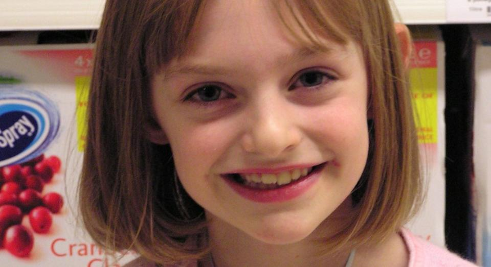 Hannah was just eight years old when she was diagnosed with encephalitis (SWNS)