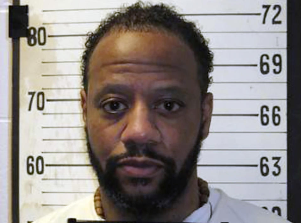 """FILE - This file photo provided by Tennessee Department of Correction shows Tennessee death row inmate Pervis Payne. Tennessee Gov. Bill Lee has granted a death row inmate a temporary reprieve from execution. Lee issued a short statement Friday afternoon Nov. 6 2020 saying he is granting a reprieve to Pervis Payne until April 9 """"due to the challenges and disruptions caused by the COVID-19 pandemic (Tennessee Department of Correction via AP, File)"""