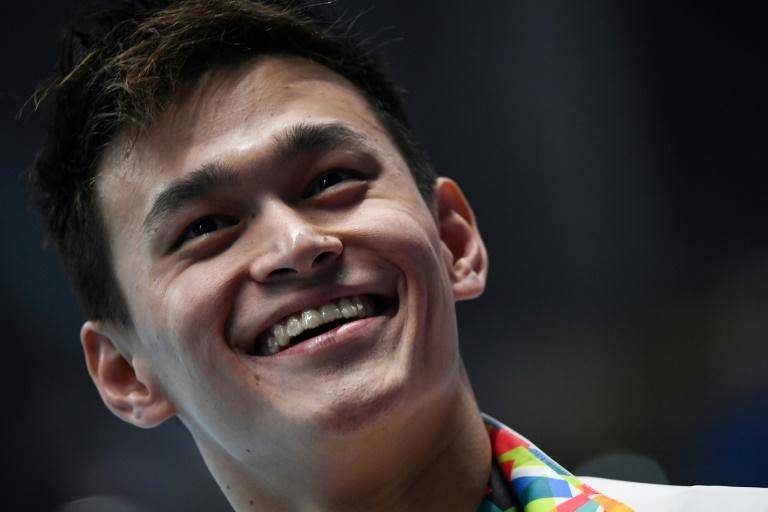 Chinese swimmer Sun Yang has a small army of fans
