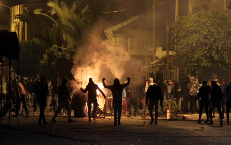 "Amnesty International has accused the Tunisian authorities of using ""increasingly heavy-handed methods to disperse rallies"" during the anti-austerity protests"