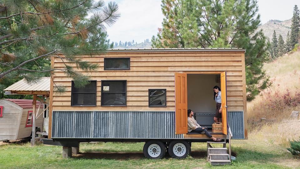 Tiny House come in many forms despite all being small. (Photo: Yahoo Finance)