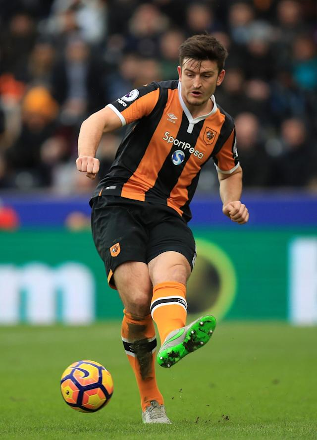 <p>Harry Maguire – Hull City (WhoScored.com rating 7.47)<br>Following injuries to Michael Dawson and Curtis Davies, Maguire has thrived alongside Andrea Ranocchia under Marco Silva, with only Ben Mee (61) making more headed clearances than in the Premier League in 2017 (57).<br>The 24-year-old has played for England U21 once already and has already been linked with a move to Tottenham and Everton.</p>