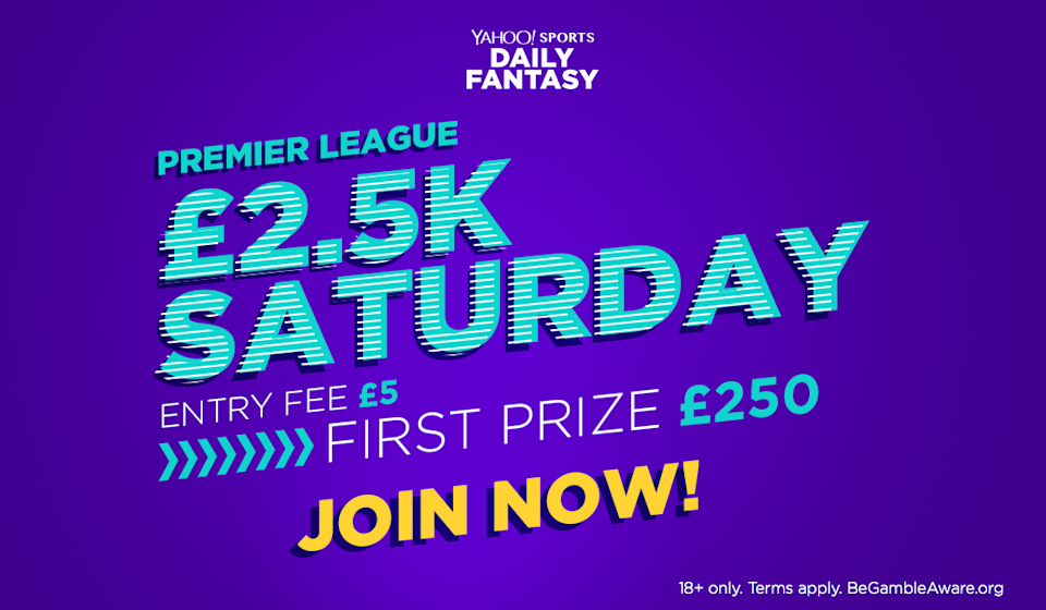 """Win £250 cash playing fantasy football <a href=""""http://bit.ly/2CC6H2J"""" rel=""""nofollow noopener"""" target=""""_blank"""" data-ylk=""""slk:here"""" class=""""link rapid-noclick-resp"""">here</a>!"""