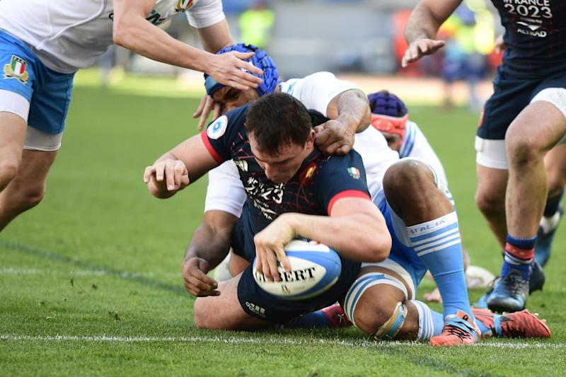 Rugby Union - France beat Italy 40-18 in Six Nations
