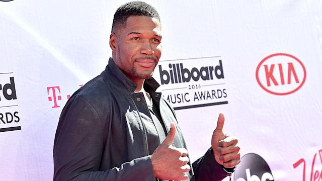 """""""Fox NFL Sunday"""" panelist Michael Strahan has the status and background to be an influencer in the debate over players protesting during the national anthem."""