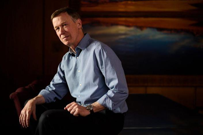 Colorado Governor John Hickenlooper.