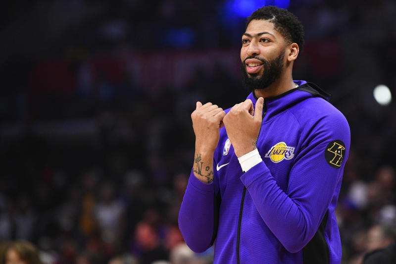 Anthony Davis thinks that the COVID-19 hiatus has actually increased the Lakers' shot at winning the NBA title this season.