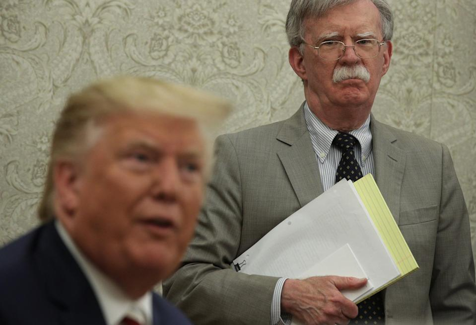 Mr Bolton was a close advisor to the US President (File photo) (Getty Images)