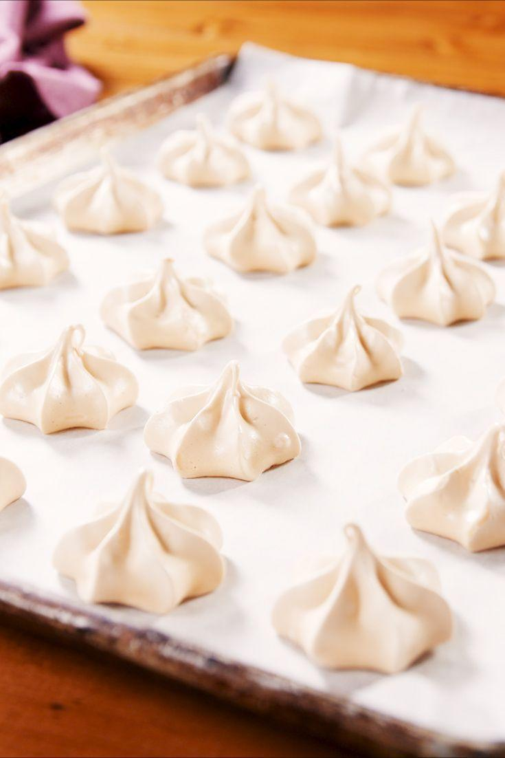 """<p>There's a reason why meringues are so popular as a Passover dessert — they're not only kosher, but they're also the perfect light and airy bites to satisfy all your sugar cravings. </p><p><em><a href=""""https://www.delish.com/cooking/recipe-ideas/a23053370/meringue-cookies-recipe/"""" rel=""""nofollow noopener"""" target=""""_blank"""" data-ylk=""""slk:Get the recipe from Delish »"""" class=""""link rapid-noclick-resp"""">Get the recipe from Delish »</a></em></p>"""