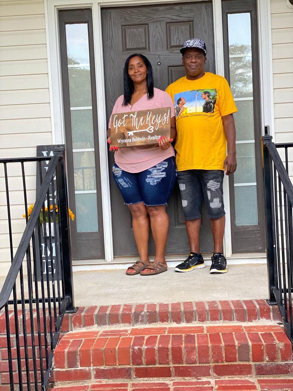 Nikki and John Daniel became first-time homebuyers in McCalla, Alabama, in August after realizing that their mortgage payments would be less than their monthly rent.
