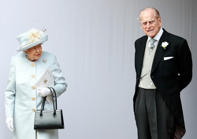 Queen Elizabeth II and Prince Philip were married for 73 years (AFP/Alastair Grant)