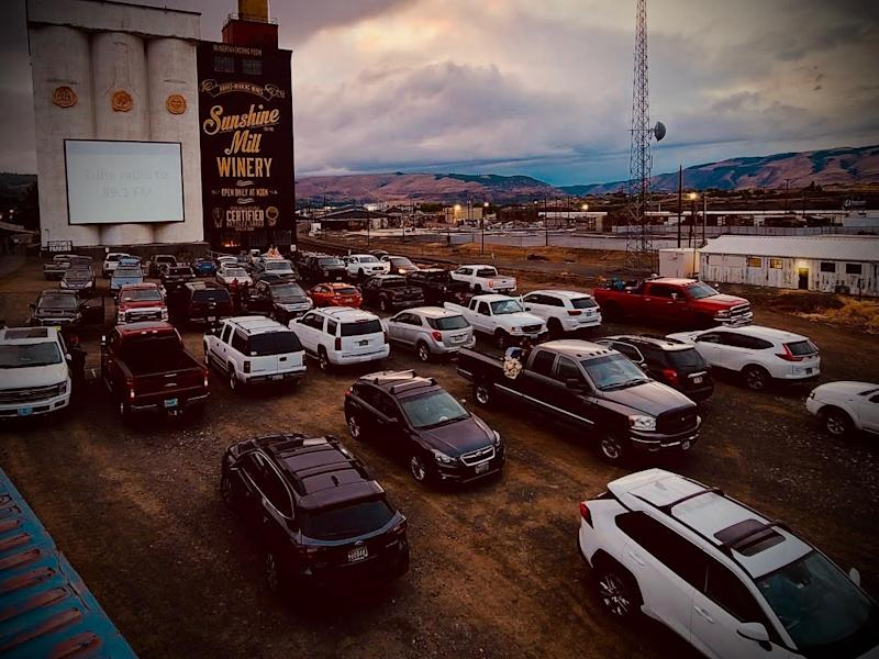 Sunshine Mill is following social distancing protocol for its first-ever drive-in movie theater this summer.