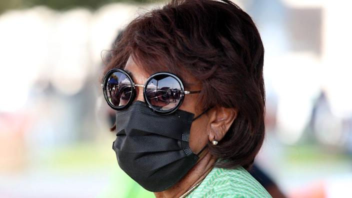 California Congresswoman Maxine Waters (above) and her also-Democratic colleague introduced the Workforce Justice Act just hours before the House of Representatives voted on the George Floyd Justice in Policing Act. (Photo by Rich Fury/Getty Images)