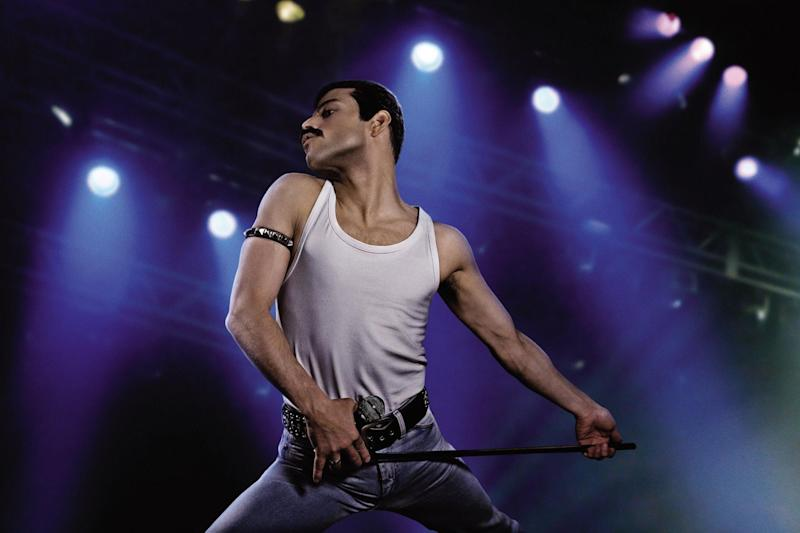 Oscar-winner: Rami Malek picked up a Best Actor trophy for his turn as Freddie Mercury ()