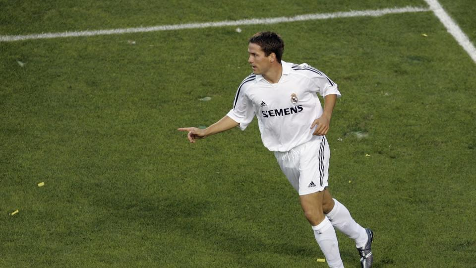 Michael Owen con il Real Madrid | Stephen Dunn/Getty Images