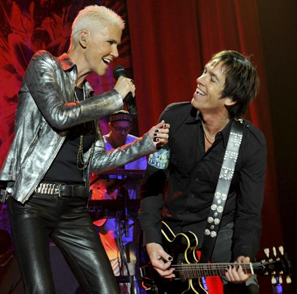 Marie Fredriksson and Per Gessle formed Roxette in 1986 and went on to sell more than 80 million albums worldwide