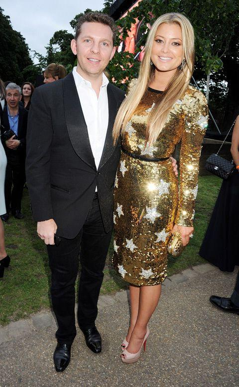 Holly Valance With Fiancé Nick At The Serpentine Gallery Summer Party In London On June 26