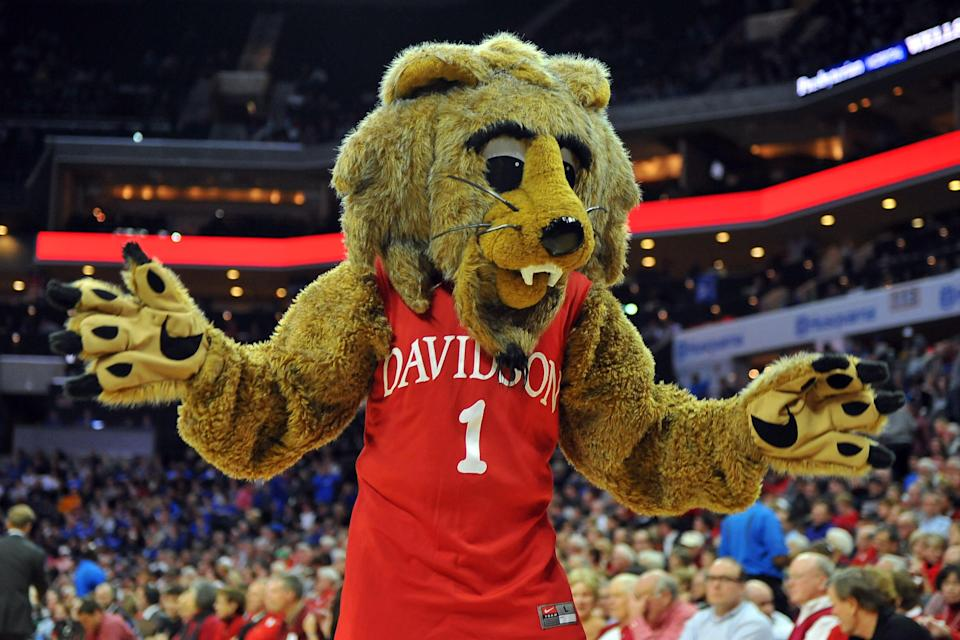 Davidson rushed for a Division I record on Saturday and still lost. (Photo by Lance King/Getty)