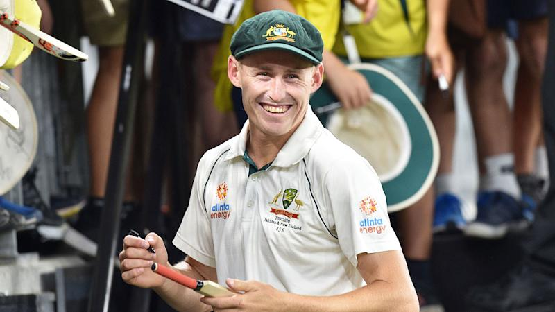 Seen here, Marnus Labuschagne will be looking to continue his red-hot form in the Boxing Day Test.