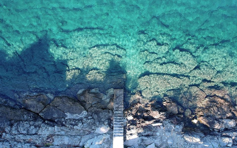 Solta's crystal clear waters - istock