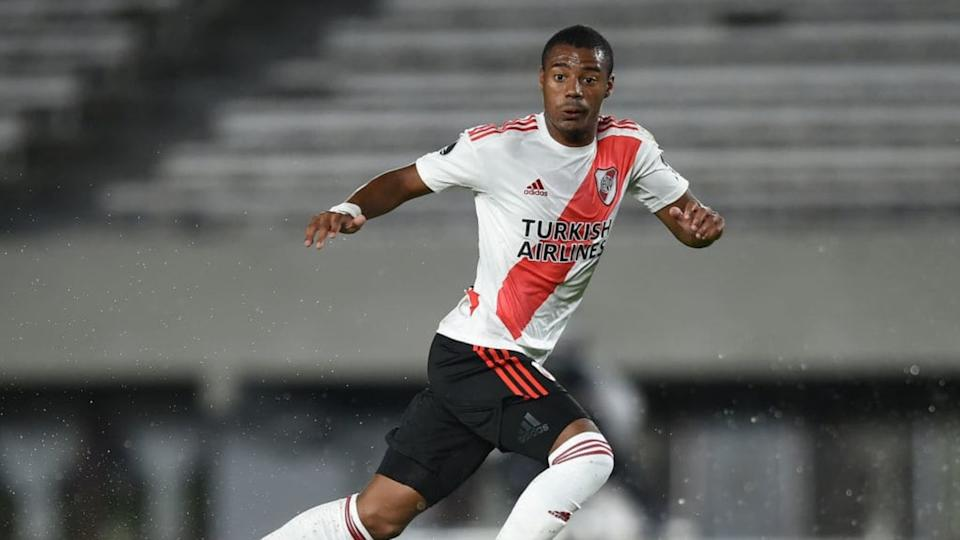 De La Cruz, clave en River | Marcelo Endelli/Getty Images