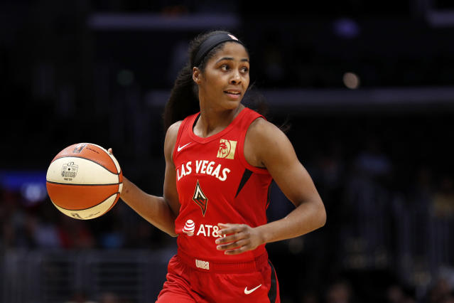 Sydney Colson's positive test comes just weeks before the Sky are set to head to Florida for the WNBA modified season. (Meg Oliphant/Getty Images)