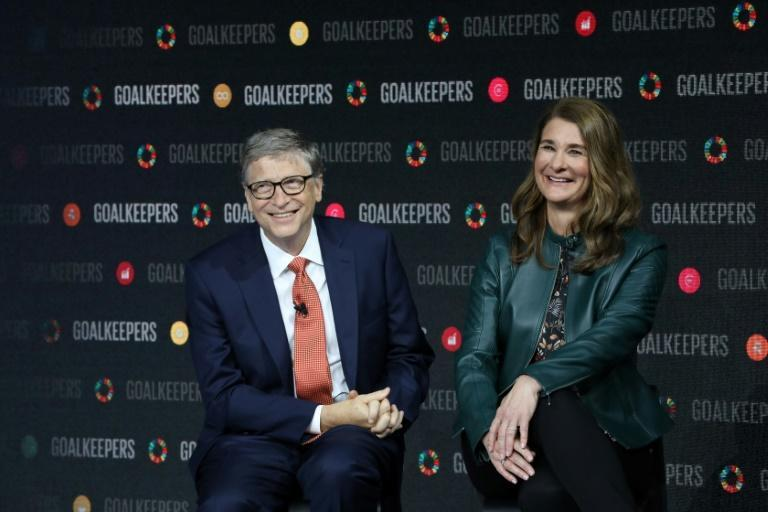 Bill and Melinda Gates, pictured here in 2018, said they intend to keep working together on their charitable foundation